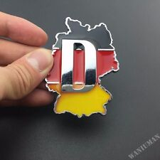 Metal Germany Map Emblem Car Badge Decal Sticker For BMW Audi VW Mercedes-Benz