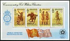GRAN BRETAGNA - ISOLA DI MAN - BF - 1976 - 200° della Rivoluzione americana