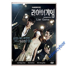 "BUY 5 GET 1 FREE""  Liar Game Korean Drama (3DVDs) Excellent English Subtitles!"