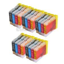 20 Drucker Tinte Patronen für Brother LC970 DCP130C DCP135C MFC230C MFC235C Set