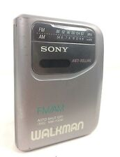 Sony WM-FX141 Walkman Personal Stereo Cassette Tape Player AM FM Radio Silver