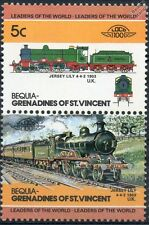 1903 GCR/LNER Jersey Lily 4-4-2 (Great Central Railway) Train Stamps / LOCO 100