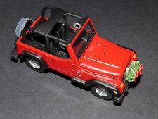 Hallmark Jeep Wrangler Sport 4.0 L Ornament NIB 2001 Die-Cast 60th Anniversary