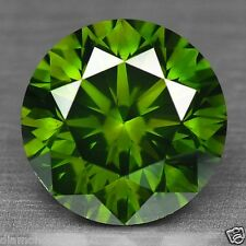 0.50 Cts FANCY RARE QUALITY GREEN COLOR NATURAL LOOSE DIAMONDS- SI1