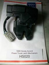 1999 Honda Accord Power Trunk Latch Mechanism w Actuator OEM #HS020