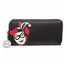 Oficial Dc Comics Originals Harley Quinn Retro Zip alrededor Embrague Bolso Cartera