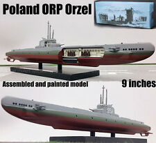 WWII Poland submarine ORP Orzeł incident 1938 U-boat 1/350 Atlas diecast boat