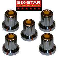 5 NEW REPLACEMENT KNOBS FOR COBRA 25 29 LTD - OTHER CB RADIOS OR OTHER PROJECTS