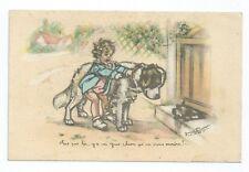 CPA - Carte Postale illustrée par GERMAINE BOURET