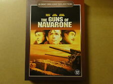 2-DISC DELUXE SELECTION DVD / THE GUNS OF NAVARONE ( GREGORY PECK... )