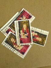 100 USED STAMPS SCOTT #1336 5C CHRISTMAS MADONNA