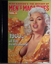 DIAN HANSON'S: THE HISTORY OF MEN'S MAGAZINES - Volume 3 - Taschen - NUOVO!