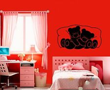 Wall Stickers Vinyl Decal Bear For Children Animal For Bedrooms Nursery ig1552