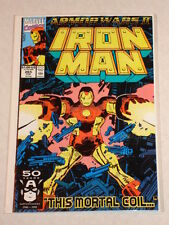 IRONMAN #265 VOL1 MARVEL ARMOUR WARS 2 BYRNE SCRIPT FEBRUARY 1991