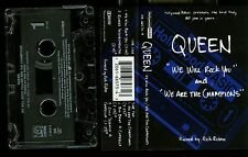 Queen We Will Rock You / We Are The Champions USA Cassette Tape
