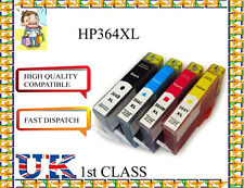 4 chiped 364XL FOR PHOTOSMART5520 5524 6510 6520 7510 PRINTER for hp nonoriginal