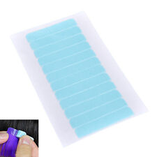 12Tabs PrecutSuper Double Sided Tape Weft Tape-in Hair Extension Replacement JG