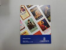 Christie's East Hollywood Posters Auction catalogue Tuesday, December 11, 1990!
