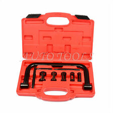 9PC Valve Spring Compressor Kit Cars Motorbikes Install Removal Repair Tool Set