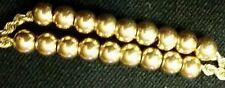 14K YELLOW GOLD SPACER BEADS FOR SLIDE BRACELET-4mm -24 beads in 1 set