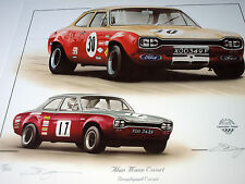 BROADSPEED ALAN MANN RACING FORD ESCORT POSTER PRINT PICTURE FORD RS RACER