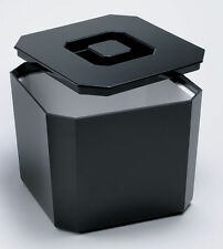 Octagonal Ice Bucket Black,White, Brown 4.5ltr   Plastic Square Ice Cube Bucket