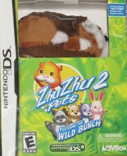 NEW DS ZhuZhu Pets 2 Featuring The Wild Bunch w/ Nutters Factory Sealed
