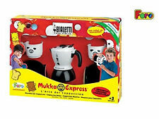 Kitchen Pretend Play Faro Mukka Express Cappuccino Coffee Cooking Toy Ages 3+