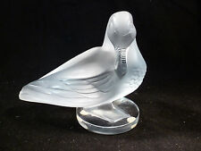 LALIQUE CRYSTAL LARGE HEAVY DUCK GEDEON CANARD FRANCE #11658