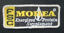"""MOREA ENERGIZED PROTEIN SUPPLEMENT ~ FSC EMBROIDERED SEW ON PATCH 4 7/8"""" x 2"""""""