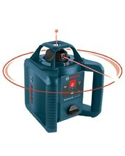 Bosch GRL245HVCK 800' Beam Self Leveling  Rotary Laser Level Free Shipping