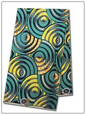 African Tunnels Print Fabric BY 1/2 YARD Ankara style kitenge fancy wax p1017