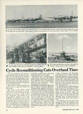 1949 Aviation Article Cycle Reconditioning of Airplanes in Berlin Airlift Repair