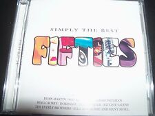 Simply The Best Fifties 50's Various 2 CD Dean Martin Doris Day The Four Tops –