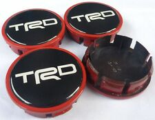 4x Cap 54 MM TRD Sticker Wheel Center Hub Cover Toyota Scion Prius Yaris Corolla