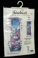 Michael Powell Christmas Lights I Cross Stitch Kit NIP Evenweave 2002 X18