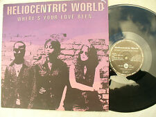 """HELIOCENTRIC WORLD 12"""" WHERE'S YOUR LOVE BEEN"""