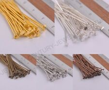 Wholesale Silver Plated Head/Eye/Ball Pins Jewelry Finding Any Size to Choose