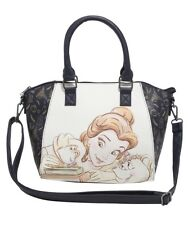 Disney Beauty & The Beast Belle Potts Chip Satchel Hand Bag Purse Gift NWT!