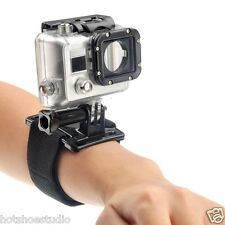 New Elastic Adjustable Arm Wrist Strap Hand Belt Mount Gopro HD Hero 2 3 3+ 4