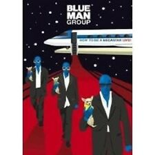 "BLUE MAN GROUP ""HOW TO BE A MEGASTAR LIVE"" DVD+CD NEU"