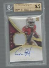 CARLOS HYDE 2014 IMMACULATE RPA ROOKIE PATCH AUTO RC #D 19/99 BGS 9.5 w/ 10 AUTO