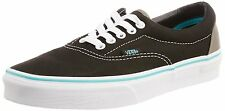 VANS ERA MENS SZ 7 WOMENS 8.5 POP LACE BLACK BLUE CURACAO SHOES CANVAS SKATE