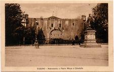 TORINO – MONUMENTO A PIETRO MICCA E CITTADELLA – CARTOLINA FP PIEMONTE