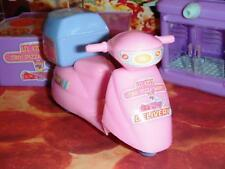Pizza Scooter B Pizza & Drink Play Food Lot fits Fisher Price Loving Family Doll
