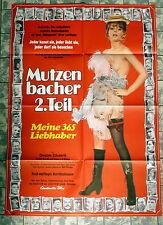 MUTZENBACHER 2. TEIL - Meine 365 Liebhaber * A1-FILMPOSTER KINO -Ger 1-Sheet ´71