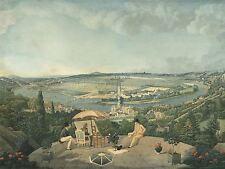 CARLE VERNET FRENCH VIEW PARIS TERRACE PAVILLON DE BRIMBORION ART PRINT BB5062A