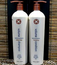 Thermafuse Volume Shampoo Conditioner 33.8 oz Liter Duo Set with Pumps New Look