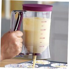 900ml Cupcake Pancake Cake Batter Dispenser Mix Pastry Jug Baking Maker Tools AE