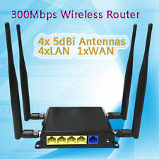 For USA/CA 3G/4G LTE SIM Card Wireless Router 300Mbps OpenWrt Strong Wifi Signal